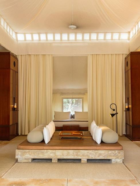 Aman i Khas Indien Zelt Hotelzimmer Interior