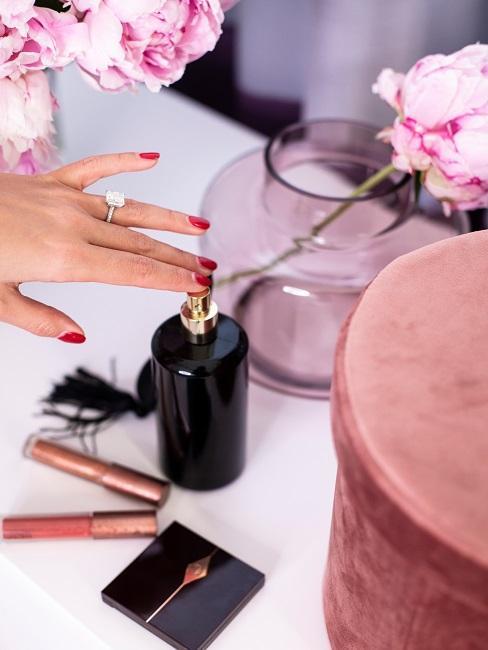 Sylvie Meis Kosmetik Blumen Farbwelt