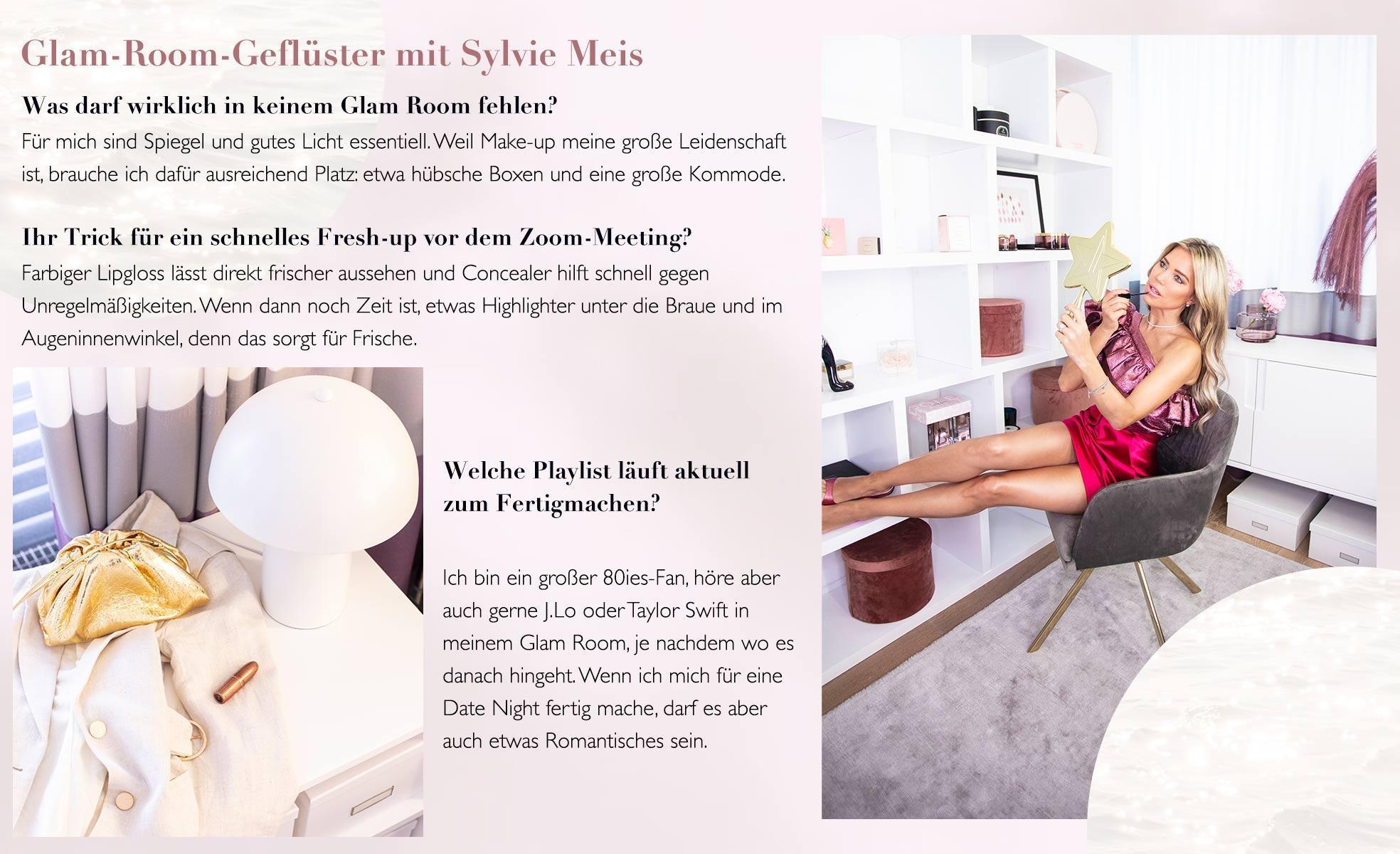 Sylvie Meiss Glam Room Tricks Make Up Playlist