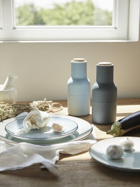 Küchenaccessoires Salz Pfefferstreuer Geschirr