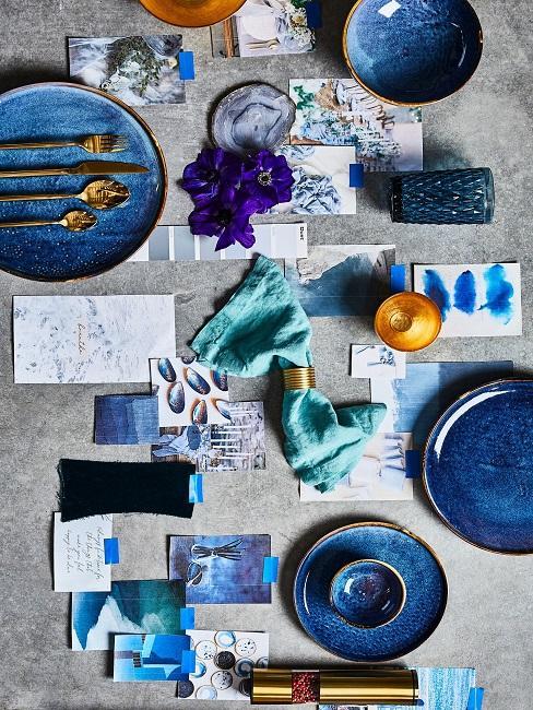 Maritime Tischdeko Blaunuancen Inspirationen Bilder