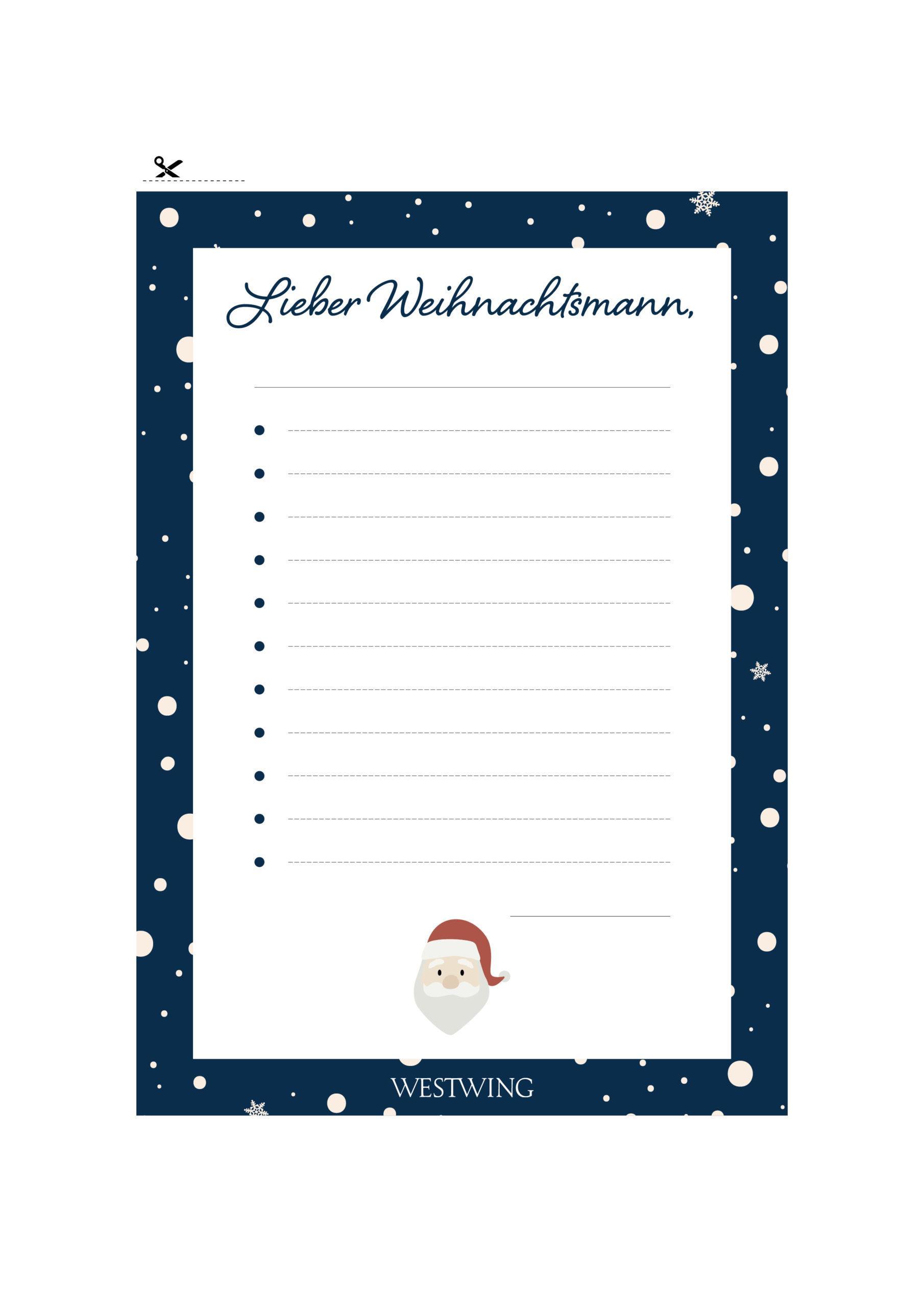 Westwing Weihnachtsmann Wunschliste Download