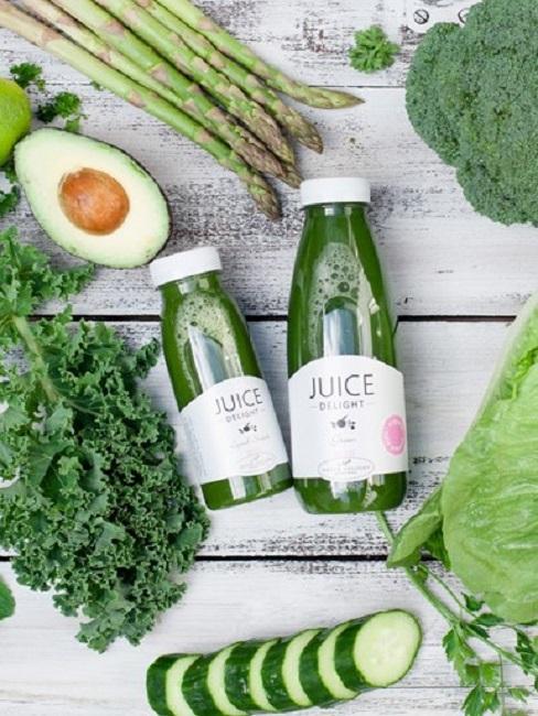 Detox Juice Cleanser Zutaten Säfte