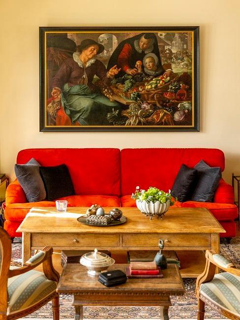 Wohnzimmer im Englisch Countryside Stil