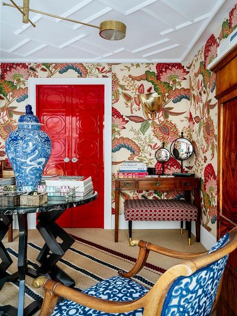 Wohnzimmer im Englisch Farmhouse Stil