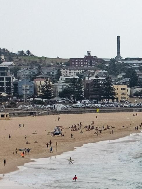 Abschnitt eines Strandes