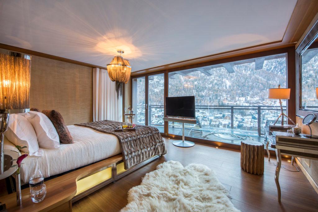 Luxus Chalet Stil Chalet Zermatt Peak Zimmer