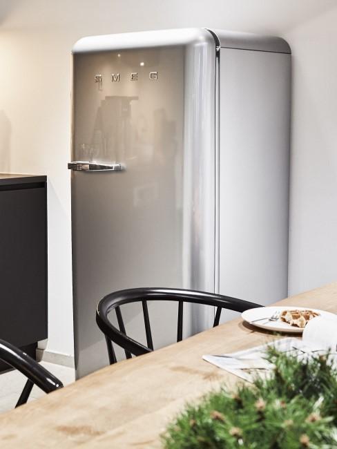 Gefrierschrank abtauen graue Kühlschrankkombi