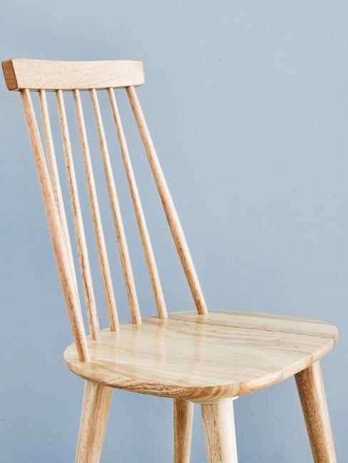 Helles Holz Stuhl Maserung