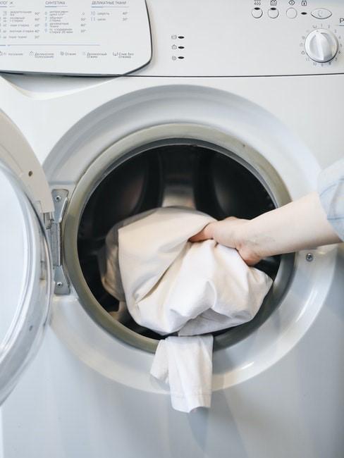 Waschmaschine zum Tischdecke reinigen