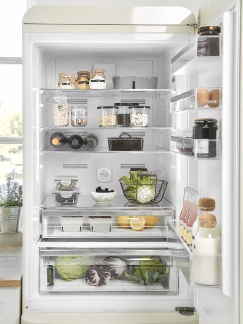 Kühlschrank einstellen verschiedene Fächer