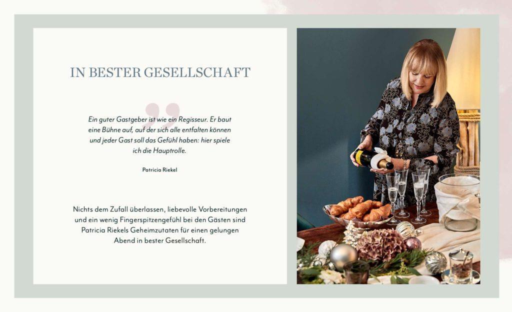 Patricia Riekel CI Gastgeber Tipps
