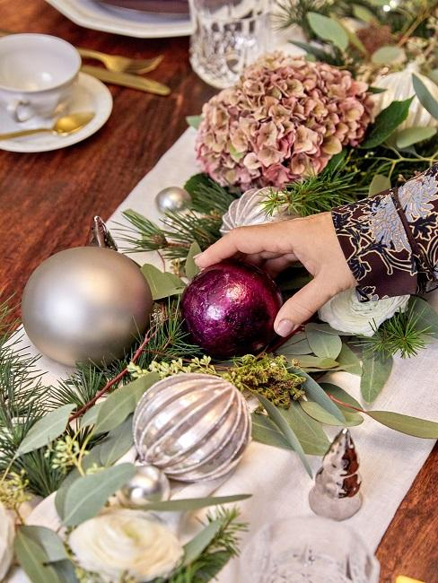 Patricia Riekel Weihnachtsbaumkugeln Farben