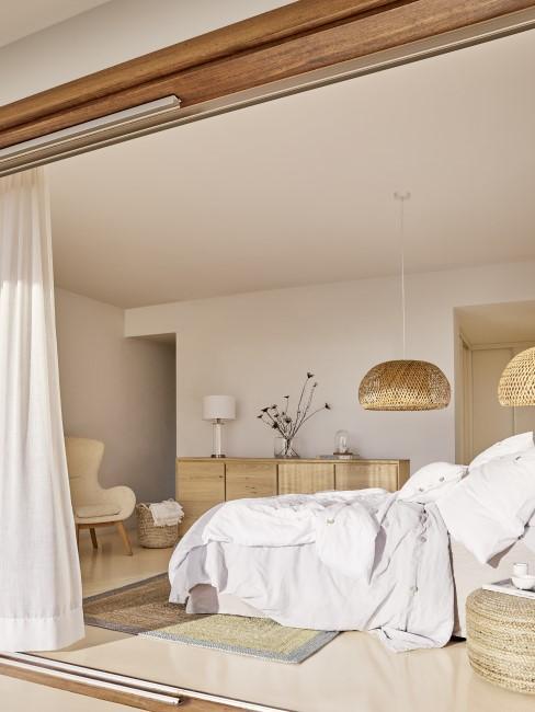 Schlafzimmer Holz Header