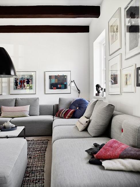 Modern Cottage Haus Wohnzimmer Sofa