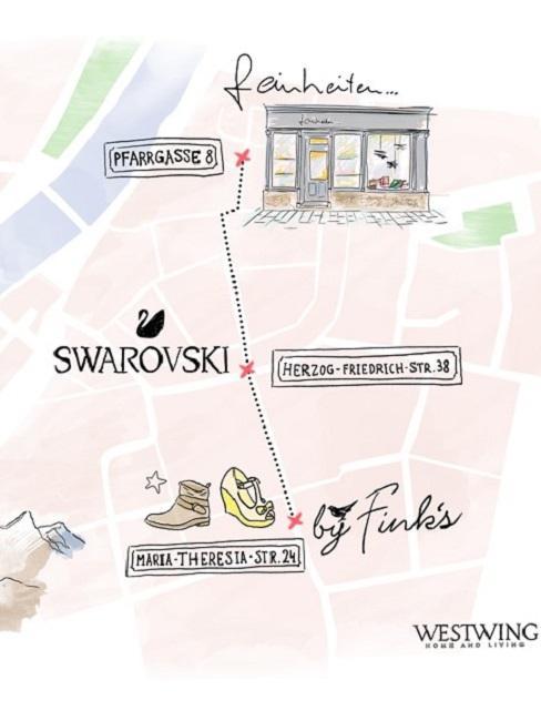 Geschenke Guide Innsbruck Tour Mappe Karte