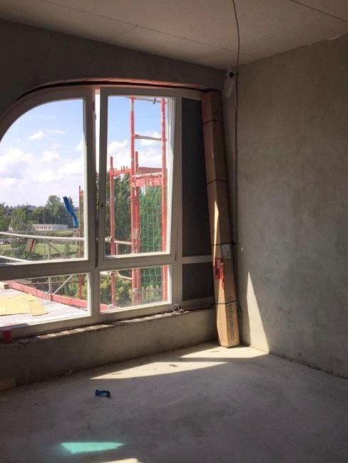 Nische gestalten Vorher Fenster