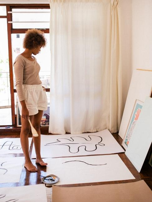 Ein Atelier im eigenen Zuhause einrichten