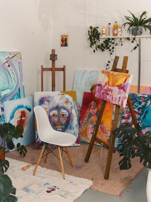 Hobbyraum, Werkstatt oder Atelier zuhause gestalten