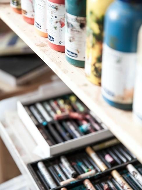 Aufbewahrung und Ordnung in der Hobbywerkstatt