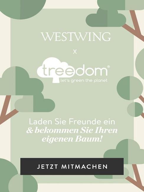 Baum pflanzen Westwing Treedom Informationen