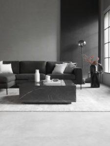 Nachhaltig leben Minimalismus minimalistisch eingerichtetes Wohnzimmer
