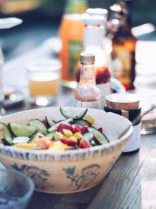 Nachhaltig leben Ernaehrung Salat vegan