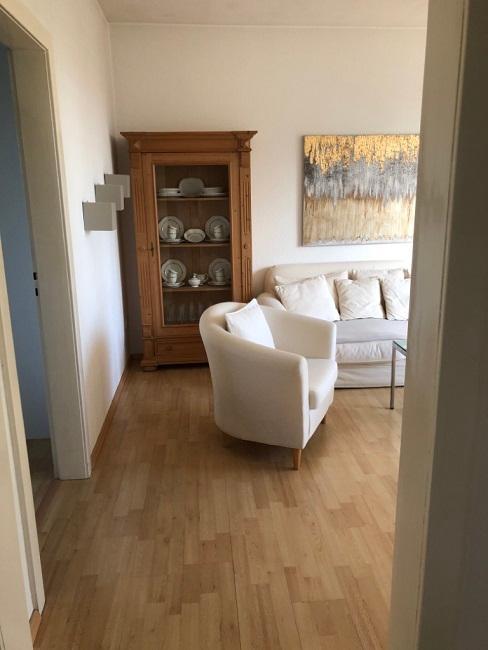 schmales Wohnzimmer einrichten Vorher Eingang