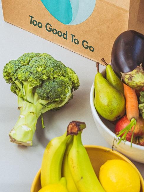 Too Good To Go gerettetes Obst und Gemüse