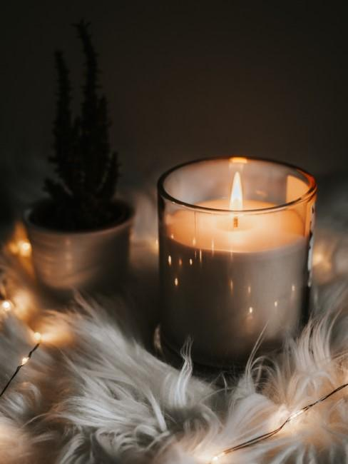 Kerzen selber machen im Glas