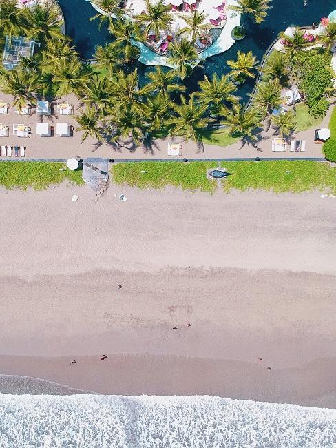 Nachhaltige Hotels Strand Palmen Meer