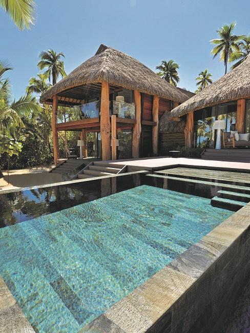 Nachhaltige Hotels The Brando Villa Aussenansicht