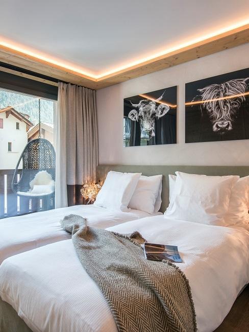 Nachhaltige Hotels Lagom Zimmer