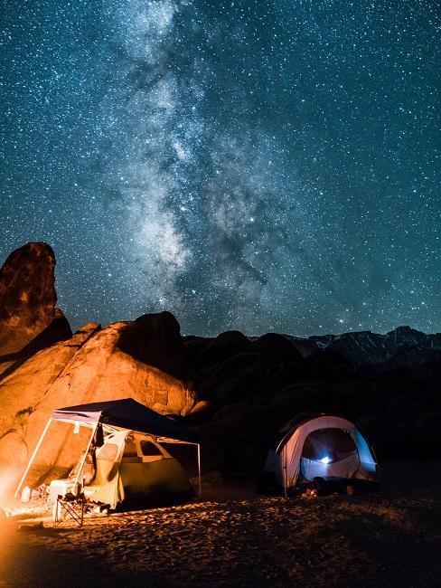 Nachhaltiges reisen Zelt Camping