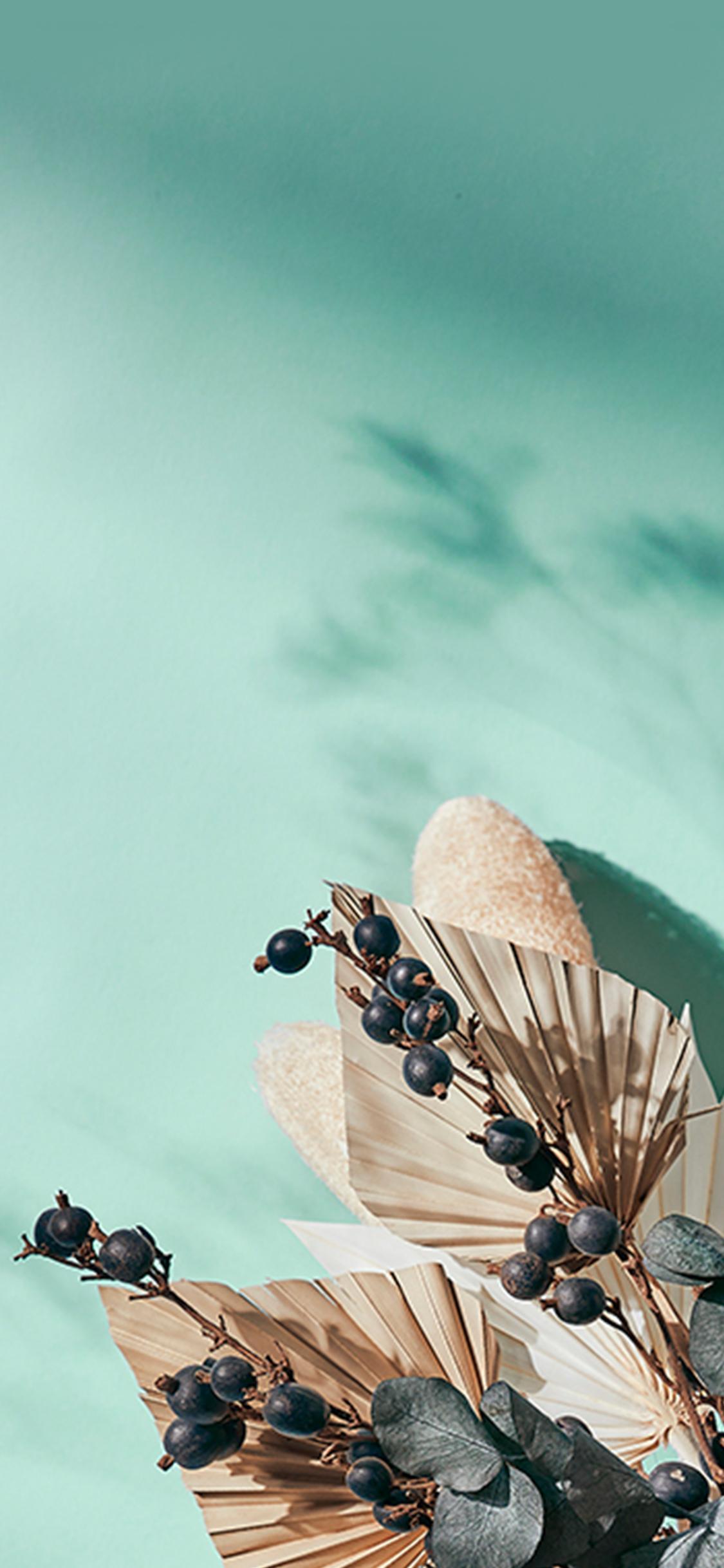 Hintergrundbild fürs Handy mit Blumen Motiv