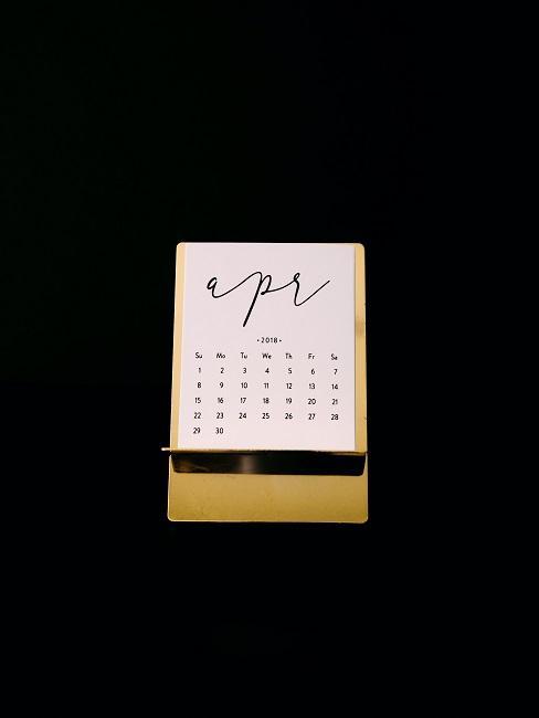April Kalender