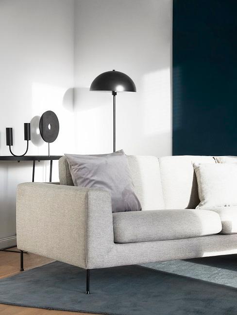 Pilzlampe im Wohnzimmer