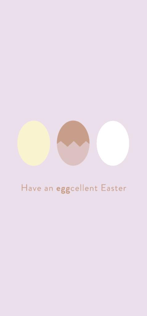 Hintergrundbild mit Ostermotiv Eier