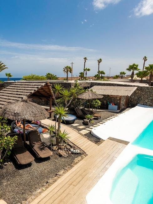 Nachhaltige Hotels Good Travel Finca de Arrieta pool