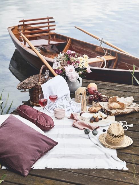 Gutschein für ein Picknick zum ersten Hochzeitstag