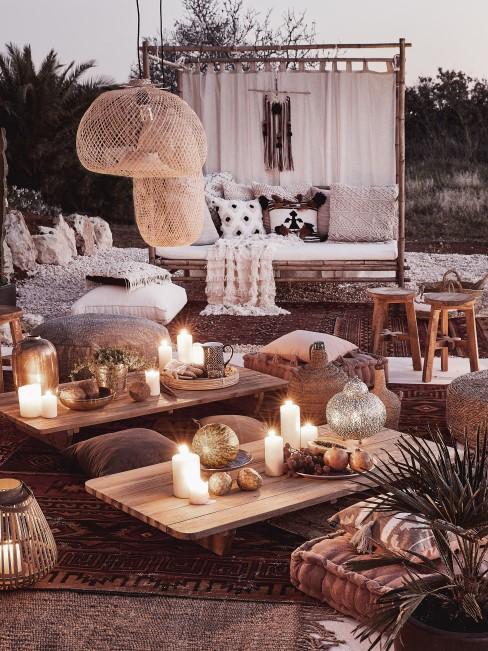 Außenbereich im orientalischen Stil