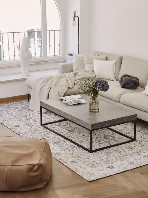 Wohnzimmer im Scandi Boho Style