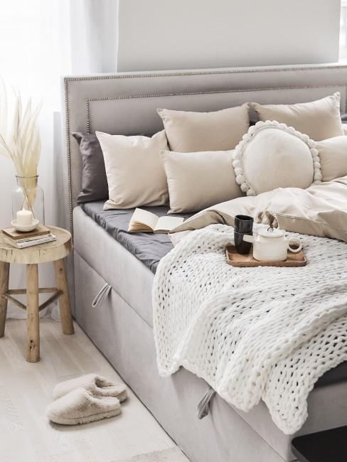 Schlafzimmer einrichten im Scandi Boho Stil