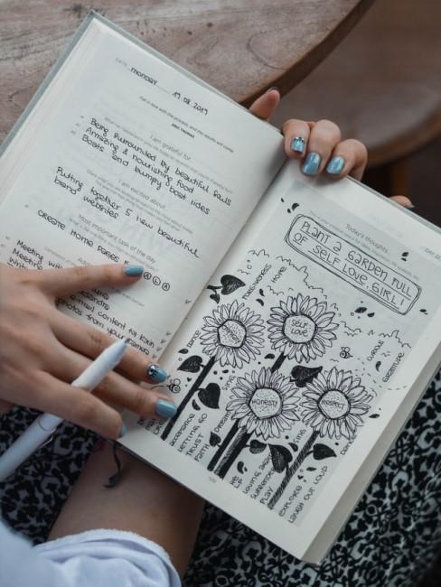 Kreative Gestaltungsideen für das Bullet Journal