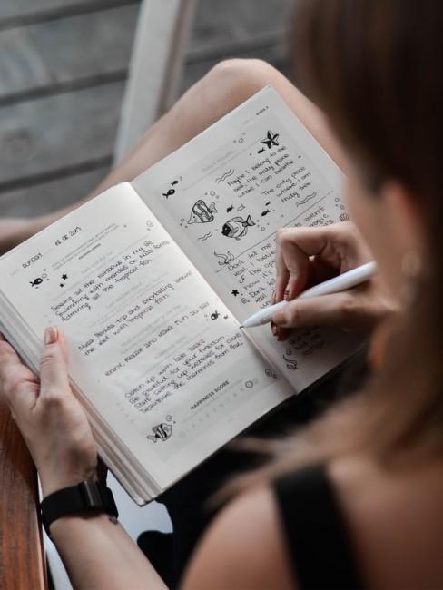 Bullet Journal schreiben und designen