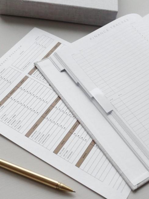 Bullet Journal als Finanzplaner verwenden