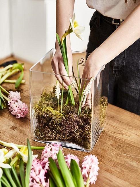 Anleitung Osterblumen Mitbringsel