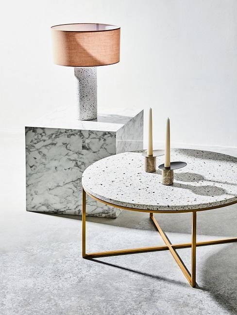 Terrazzo Tisch Lampe