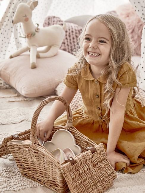 Picknick als Idee für Kindergeburtstag im Corona-Lockdown
