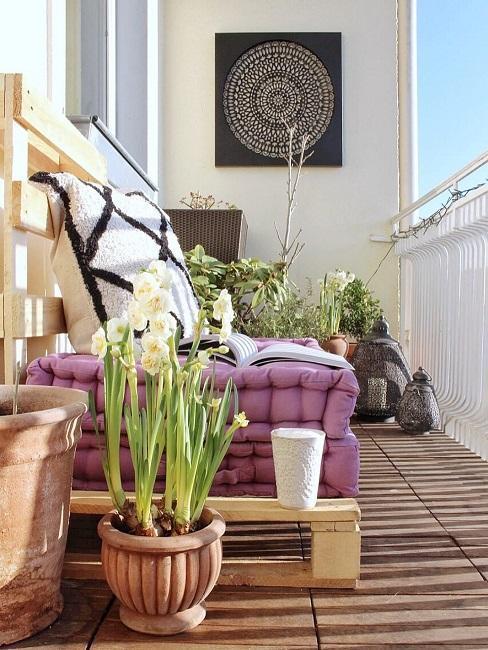 Palettenmöbel für Garten und Balkon - selbstgebaut als Trend